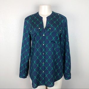 CHAPTER CLUB LONG SLEEVES BLOUSE